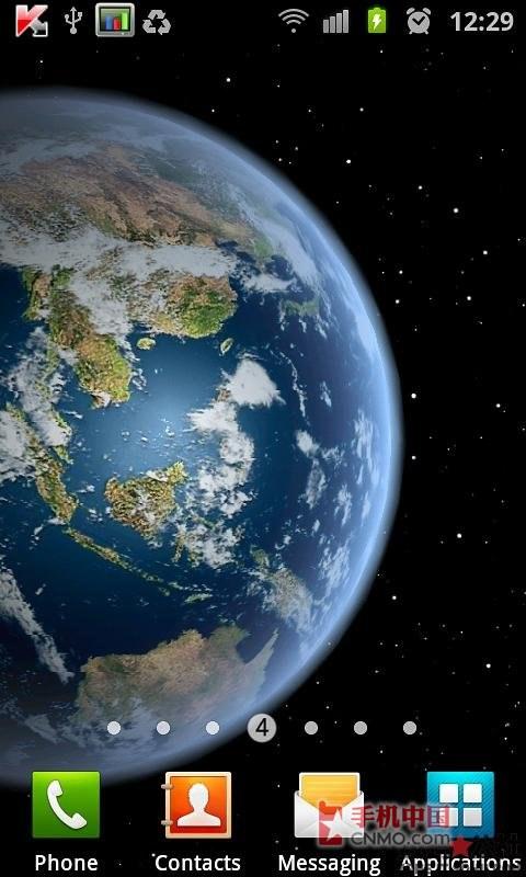 电子市场上最好的地球动态壁纸——3d高清地球旋转动态壁纸v1.2