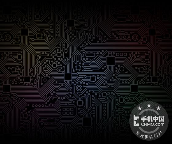 暗色系电路板壁纸